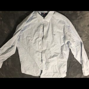 Men's L LS Vineyard vines button down shirt.